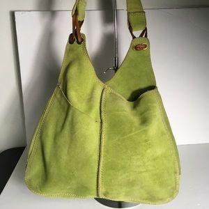 Lucky Brand hobo hippie suede leather handbag